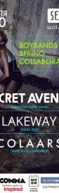 Boybands Spring Collaboration (Secret Avenue, Lakeway, Colaars)